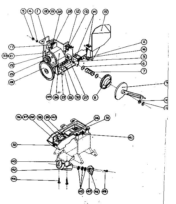 Sears model 18698320 projector genuine parts