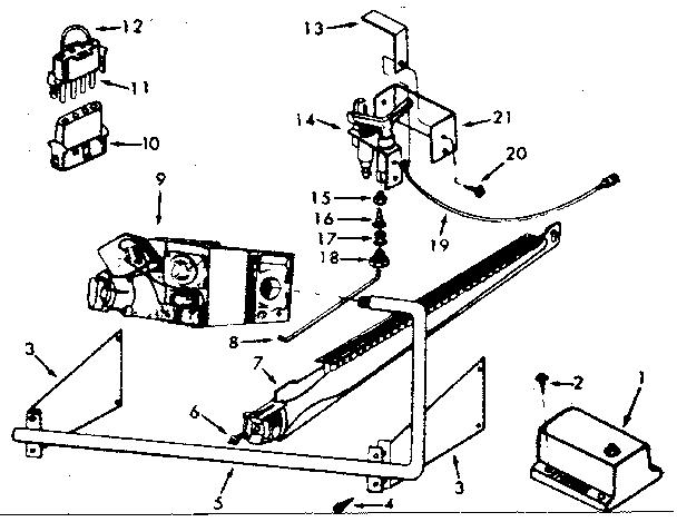 Kenmore model 867762823 furnace/heater, gas genuine parts