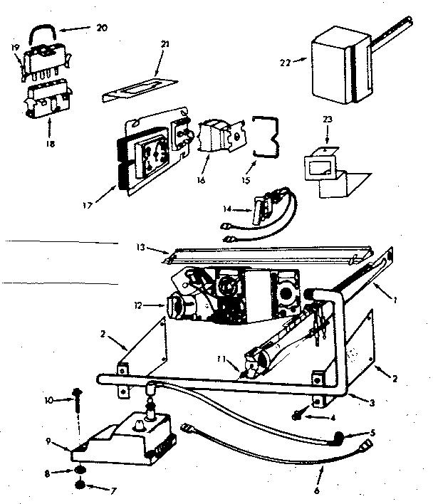 Kenmore model 867762650 furnace/heater, gas genuine parts