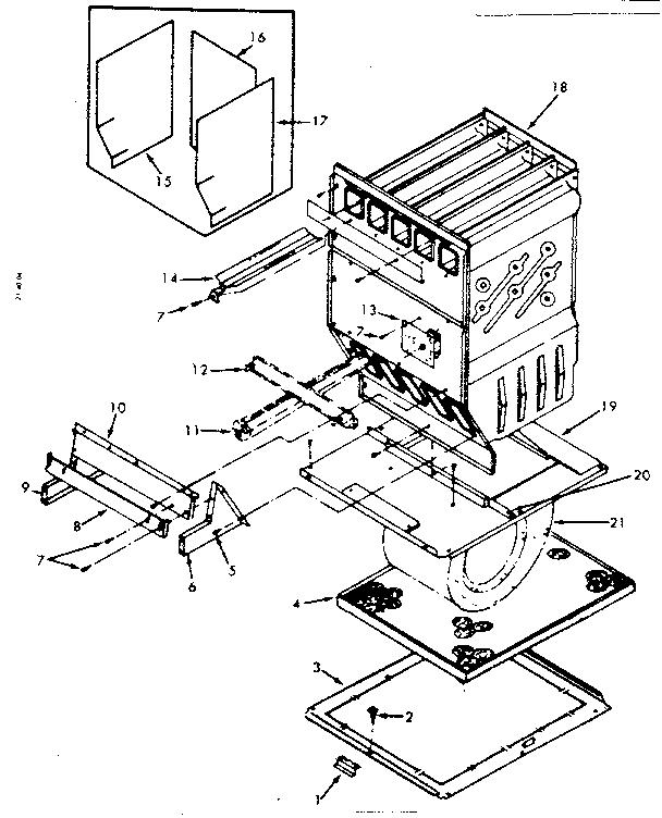 Kenmore model 867762641 furnace/heater, gas genuine parts