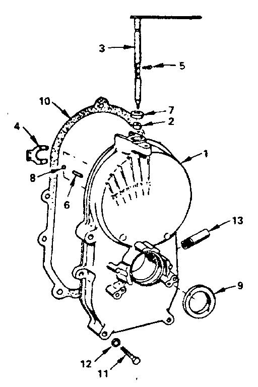 Onan model B48G-GA020/3858C engine genuine parts