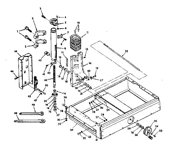 Craftsman model 113198251 saw radial genuine parts