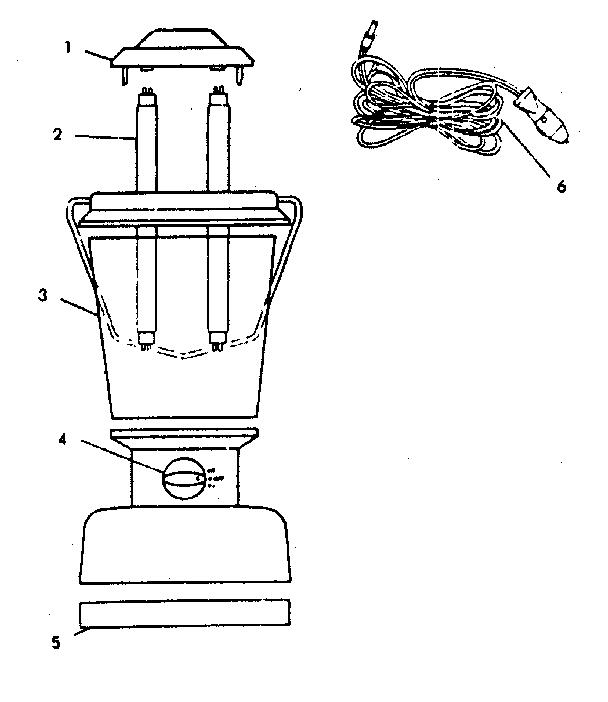 Coleman model 5355-700 lantern genuine parts