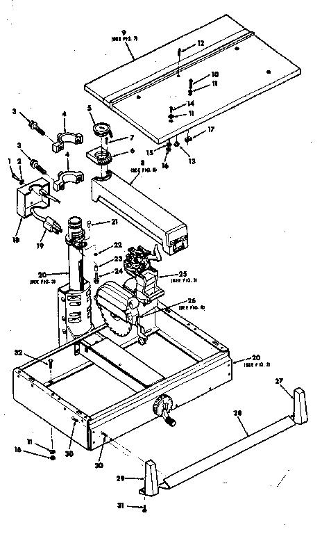 Craftsman model 113198111 saw radial genuine parts
