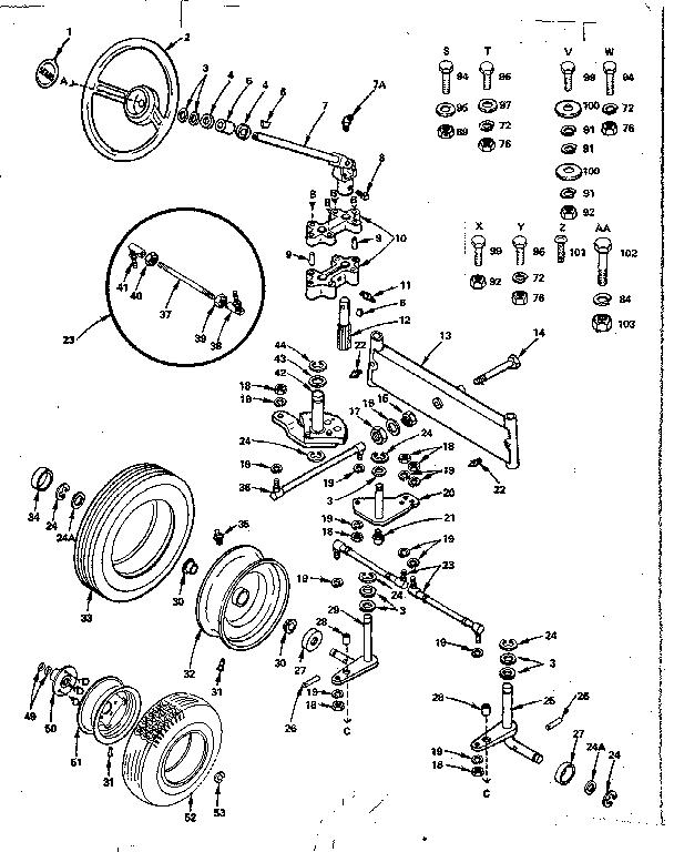 Craftsman model 91725150 lawn, tractor genuine parts