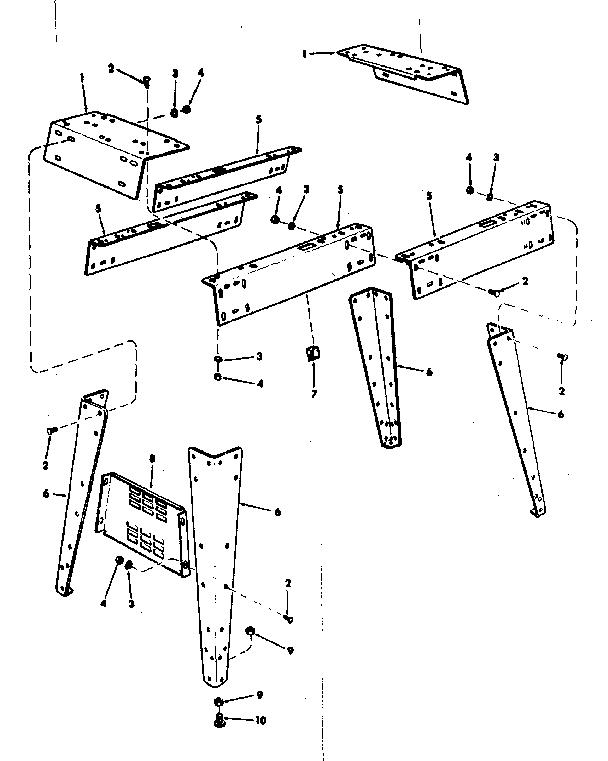 Craftsman model 113206890 jointer/planer genuine parts