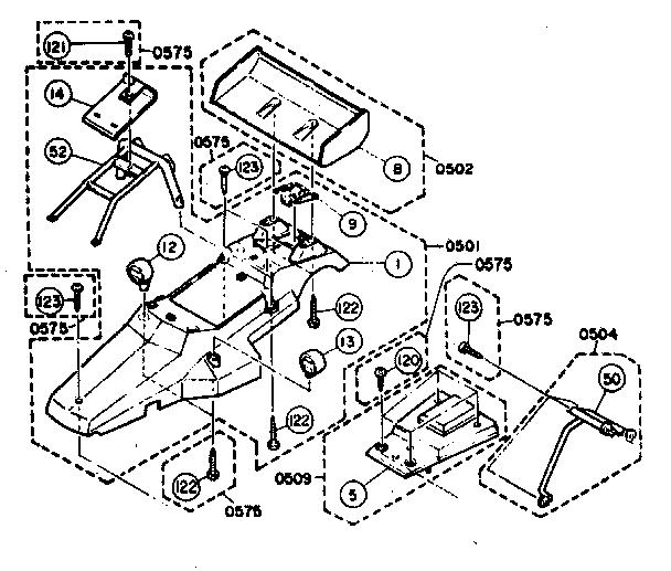 Nikko model 14085/6 radio/remote control toys genuine parts