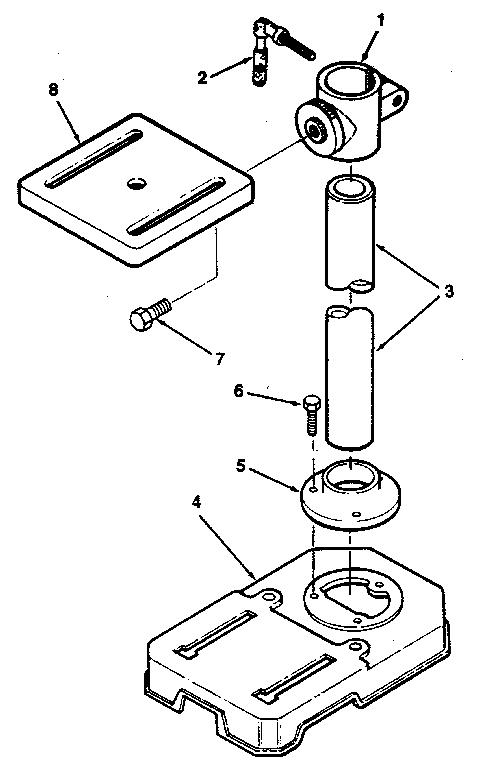 Craftsman model 113213080 drill press genuine parts