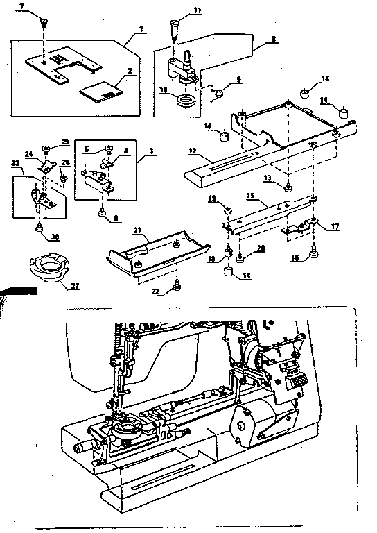 Kenmore model 3851764180 mechanical sewing machines