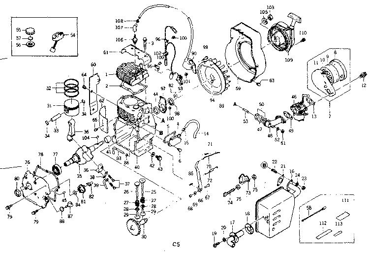 Craftsman model 580328330 generator genuine parts