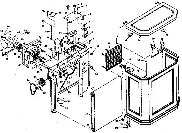 Kenmore model 758743303 humidifier genuine parts
