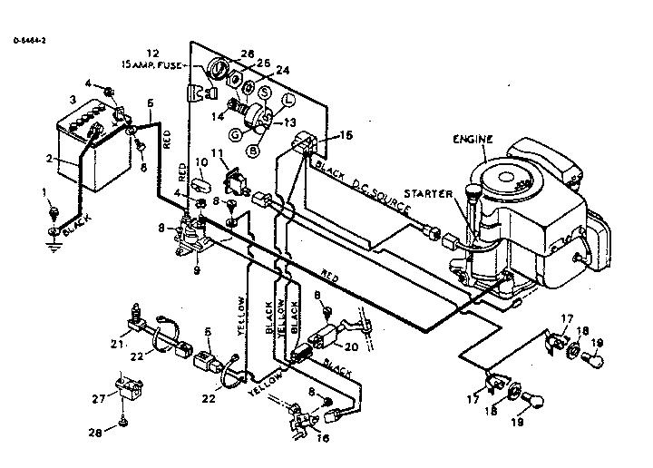 Craftsman model 502254290 lawn, tractor genuine parts