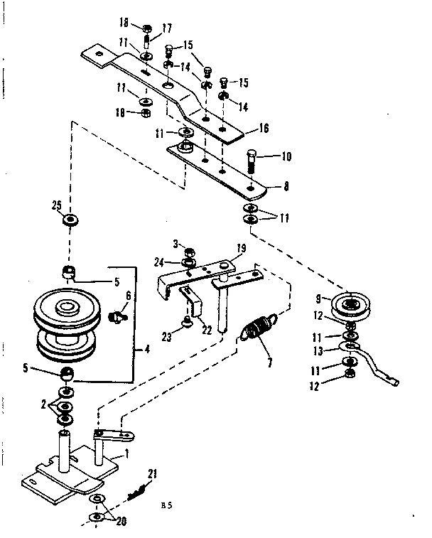 Craftsman model 842240722 snow thrower attachment genuine