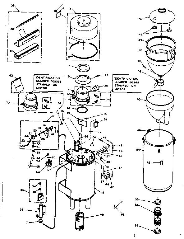 Vacuum Cleaner Wiring Diagrams Vacuum Cleaner Schematic