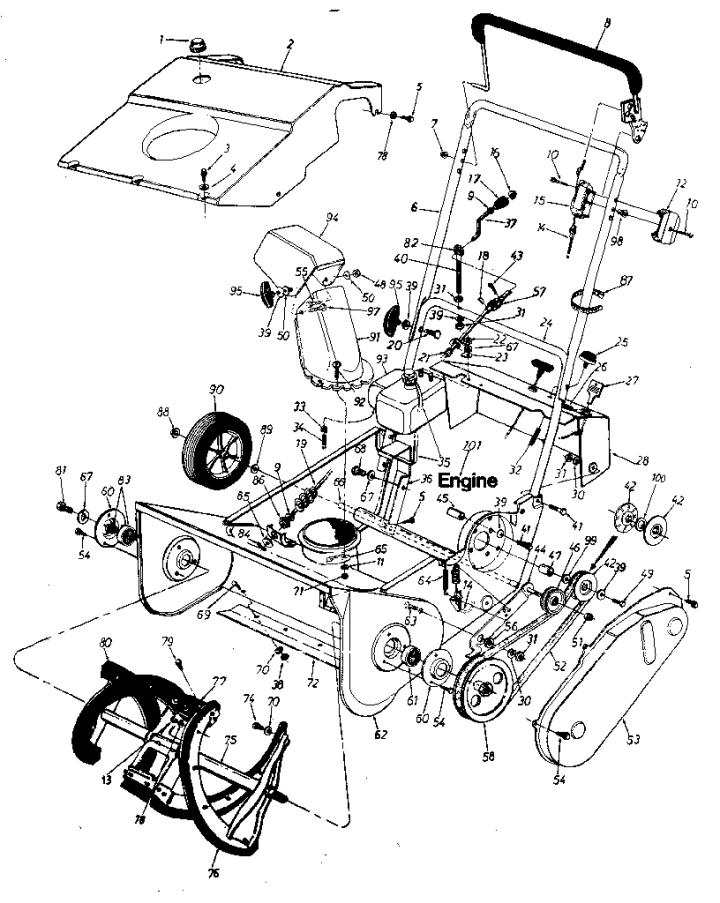 Model 247884210 | CRAFTSMAN SEARS CRAFTSMAN 20