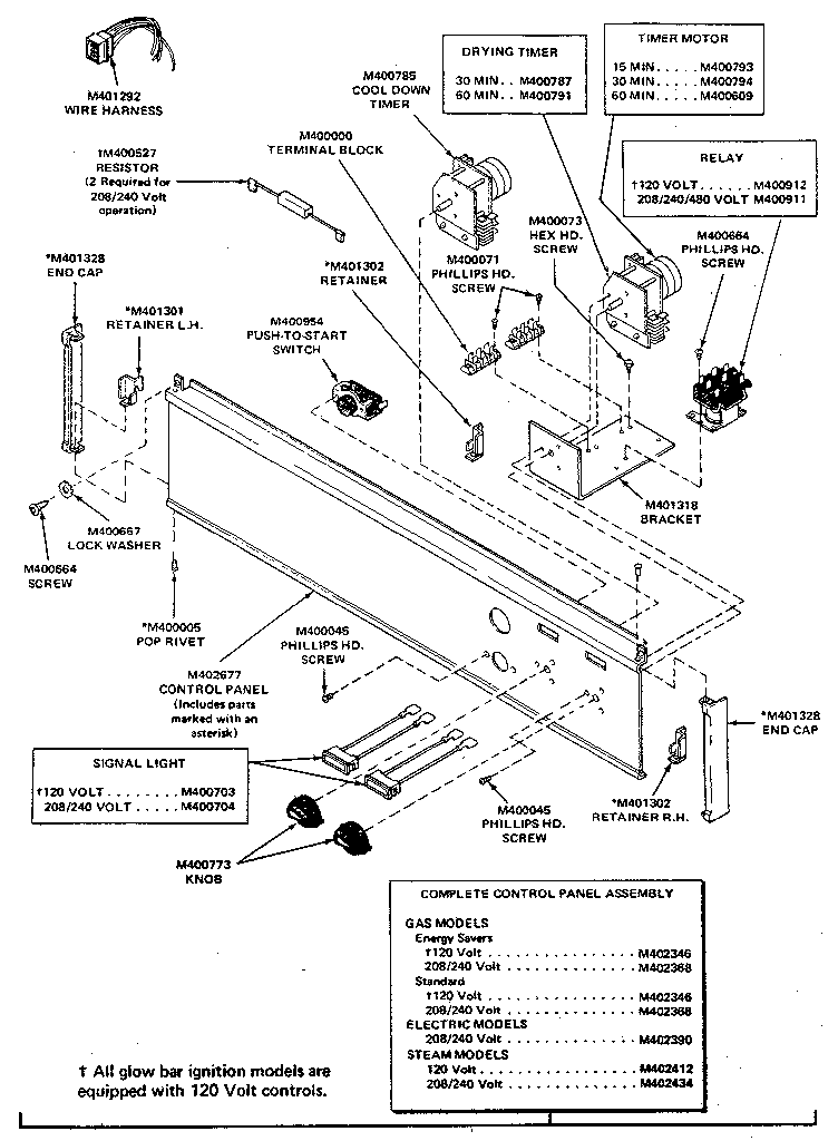 Commercial Dryer Wiring Diagram