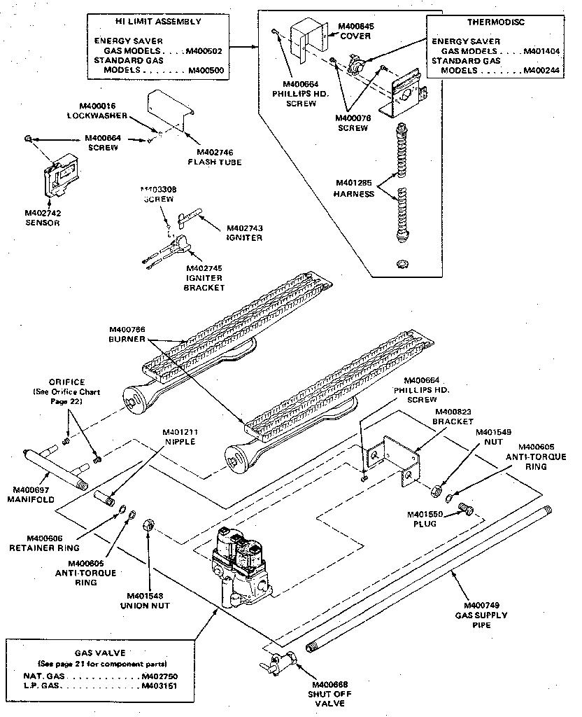 Huebsch model 37EG commercial dryer genuine parts