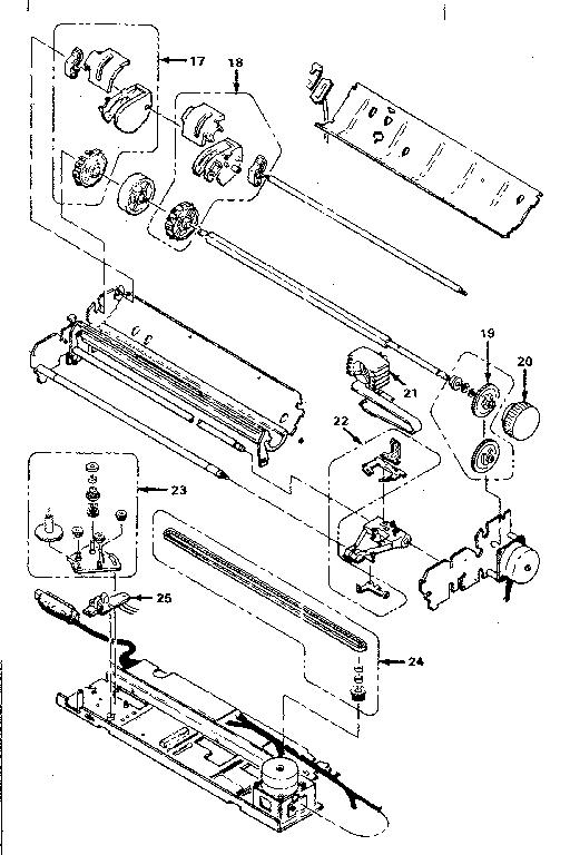 Ibm model PC JR computer genuine parts