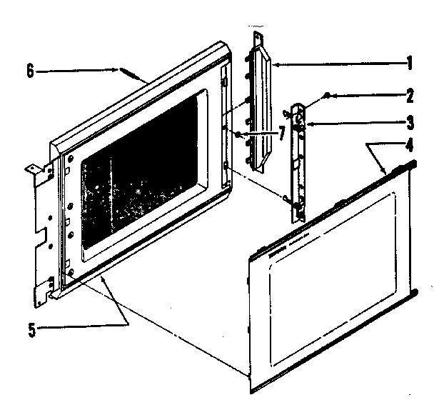 Tappan model 56-4877 countertop microwave genuine parts
