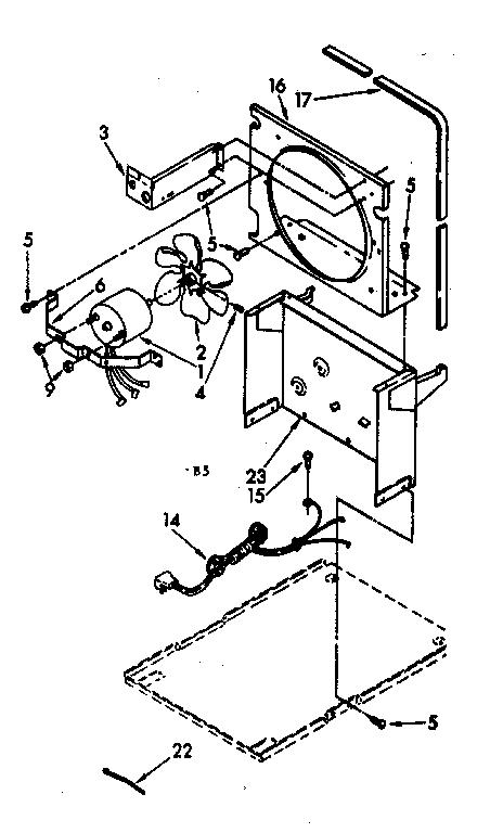 Kenmore model 106850126 dehumidifier genuine parts