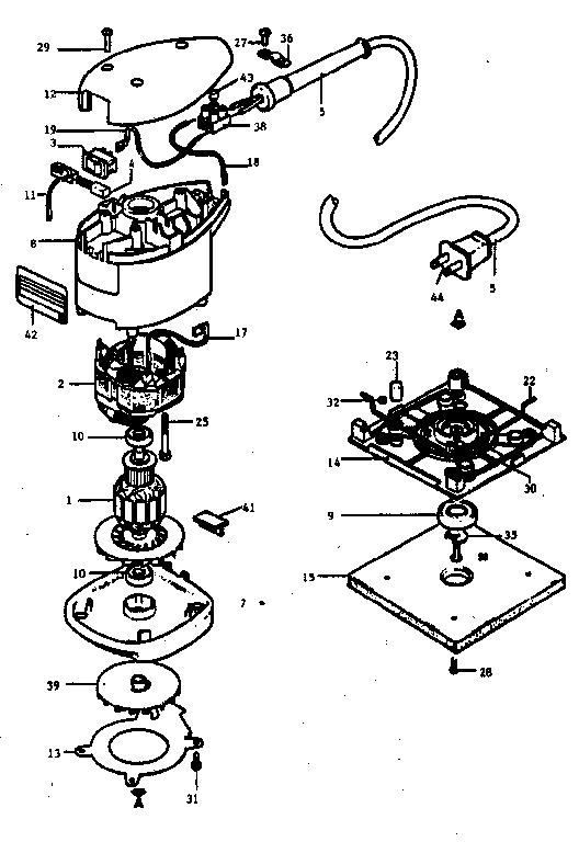 CRAFTSMAN CRAFTSMAN PALM GRIP FINISHING SANDER Parts
