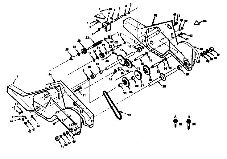 Craftsman model 917299640 rear tine, gas tiller genuine parts