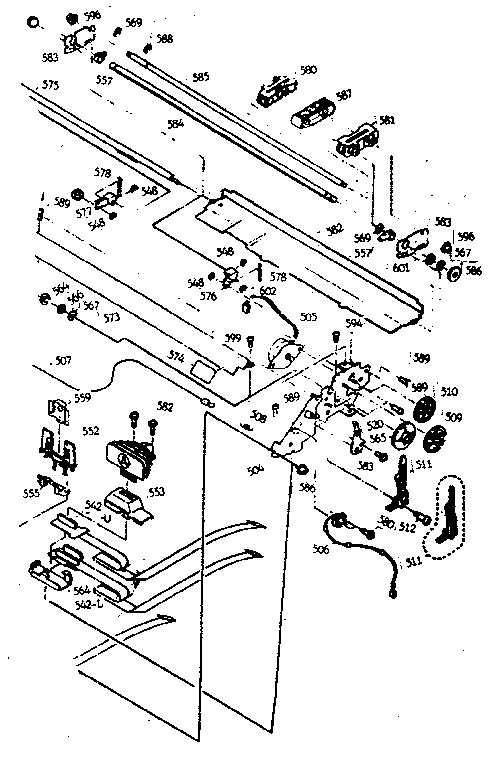 Epson model LQ-2500 PLUS printer genuine parts