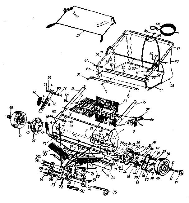 Craftsman model 486240381 tractor attachments genuine parts