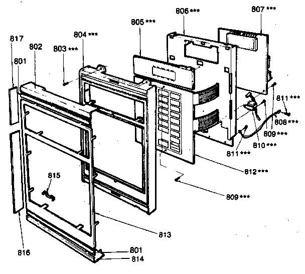 Kenmore model 7218815180 countertop microwave genuine parts