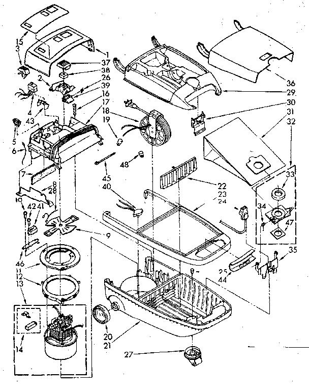 KENMORE VACUUM CLEANER/HOSE & ATTACHMENT PARTS Parts