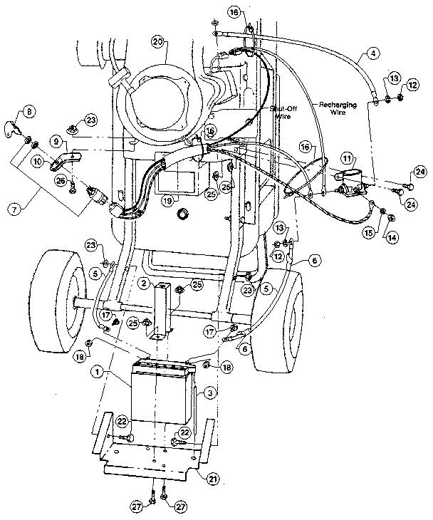 Troybilt model TOMAHAWK 4HP chipper shredder/vacuum, gas