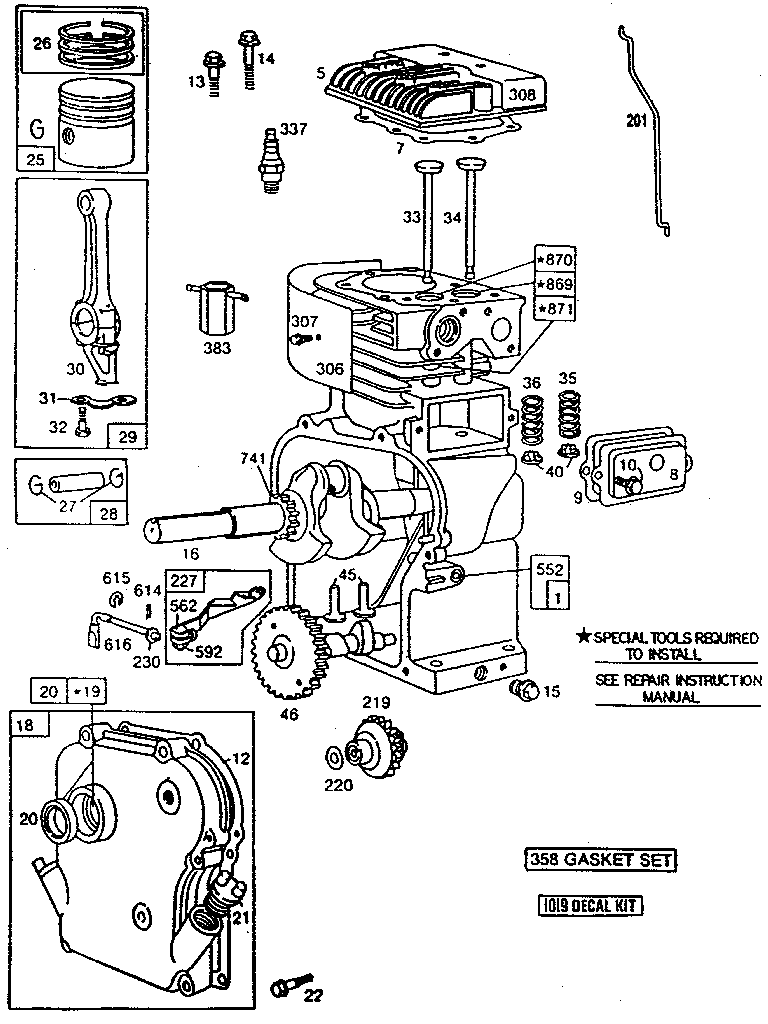 5hp Briggs And Stratton Engine Diagram Governor Linkage