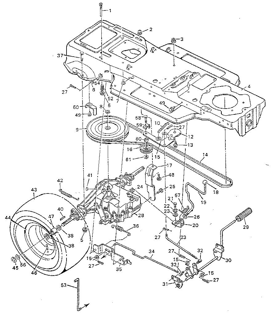 Tractor Suspension System Diagram ATV Suspension Diagram