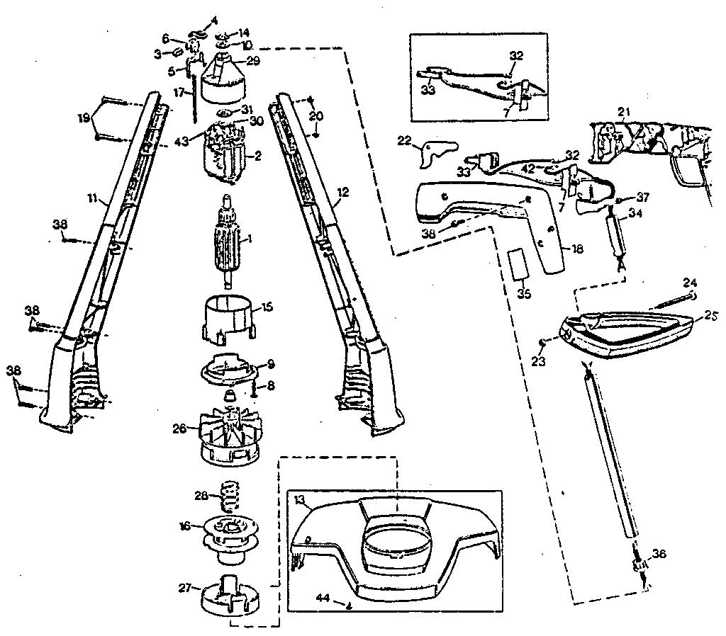 Black-Decker model 82310 line trimmers/weedwackers