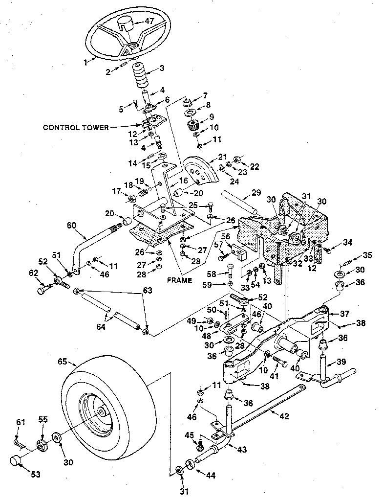 Jacobsen model UT33016 lawn, tractor genuine parts