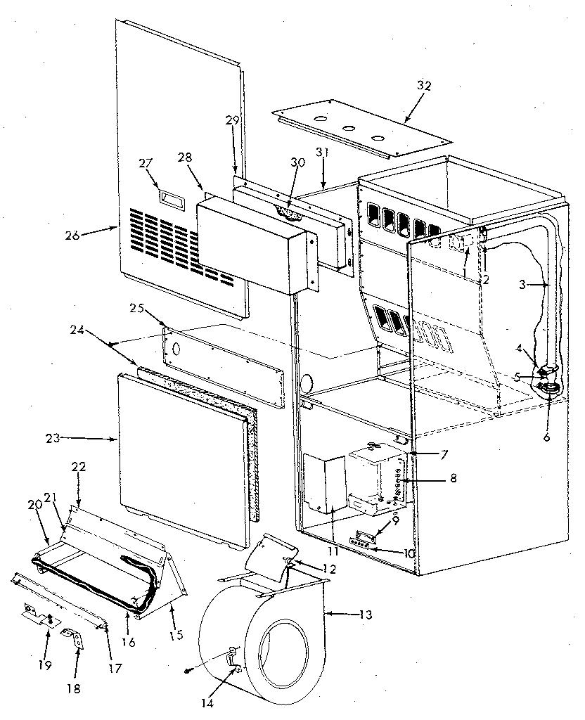 Icp model NUGK075KG05 air-conditioner/heat pump(outside