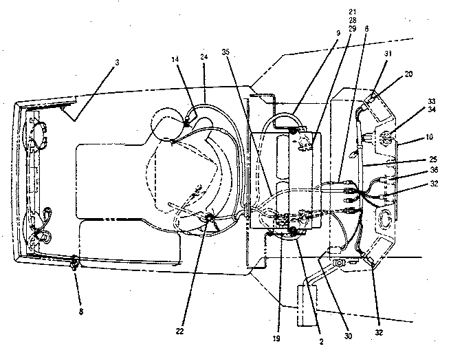 Troybilt model 3312GR lawn, tractor genuine parts