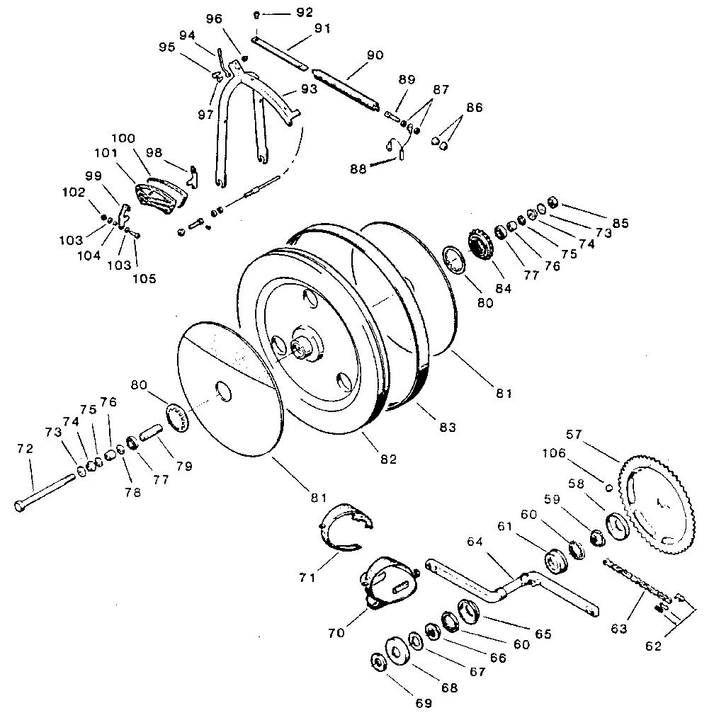 Tunturi model E404 cycle genuine parts