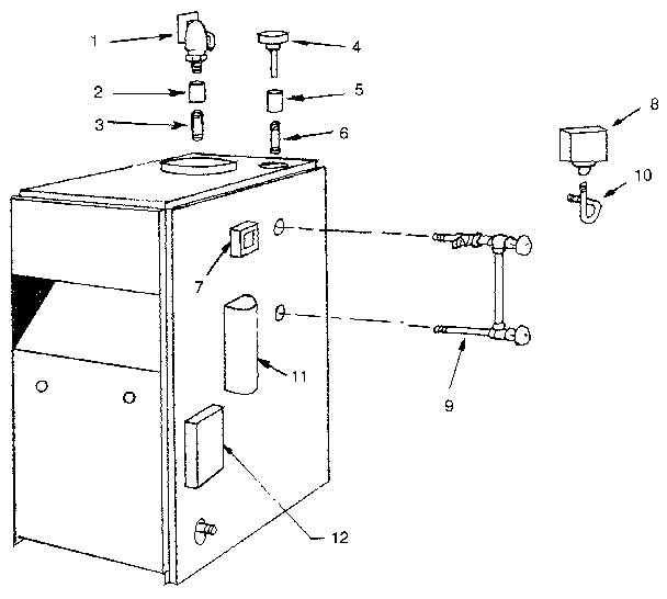 Kenmore model 229964350 boiler-storage tanks genuine parts