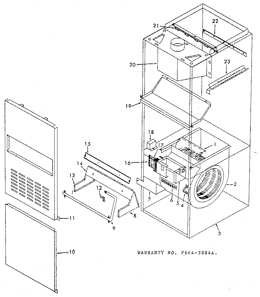 Icp model NUGG100DF02 furnaces/heaters genuine parts