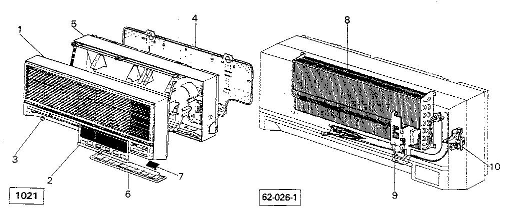 Mitsubishi model MSH-15BN air-conditioner/heat pump