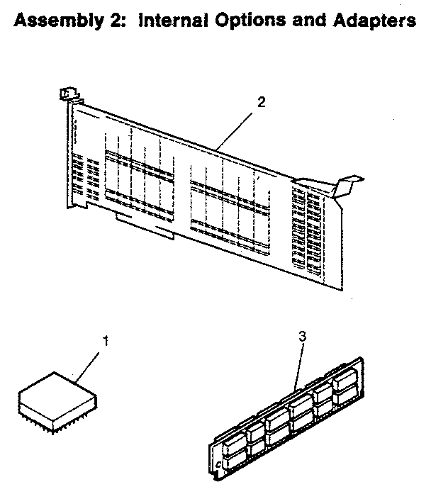 Ibm model PS/2 70/386 computer genuine parts