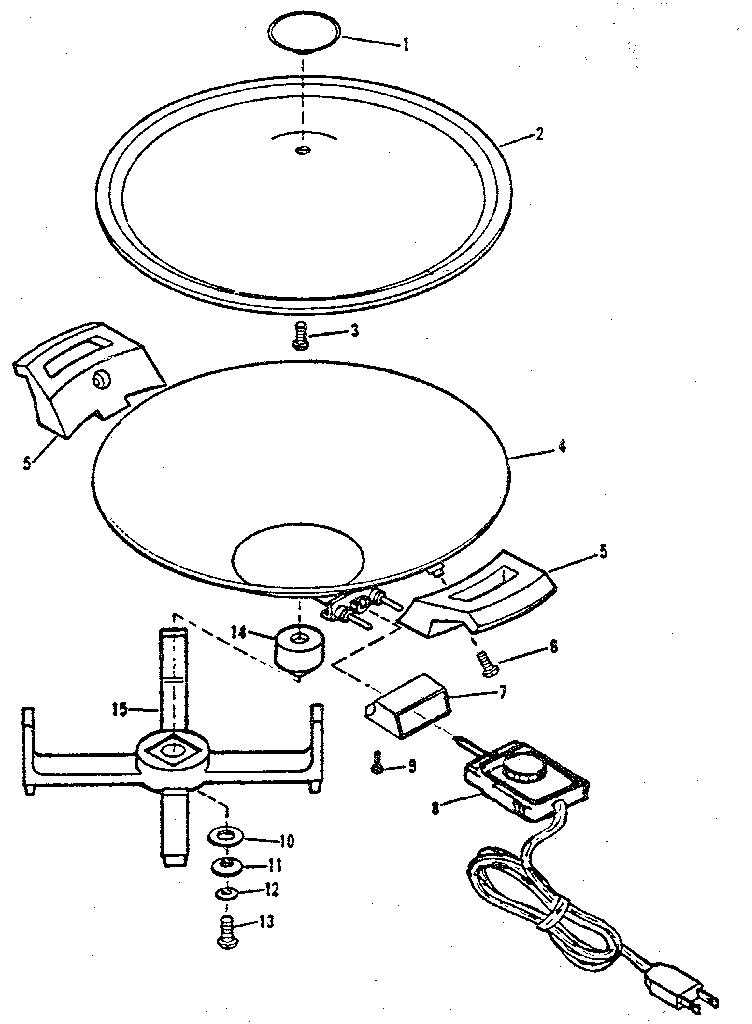 West-Bend model 79506X wok genuine parts