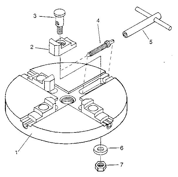 Craftsman model 25560 drill chuck genuine parts