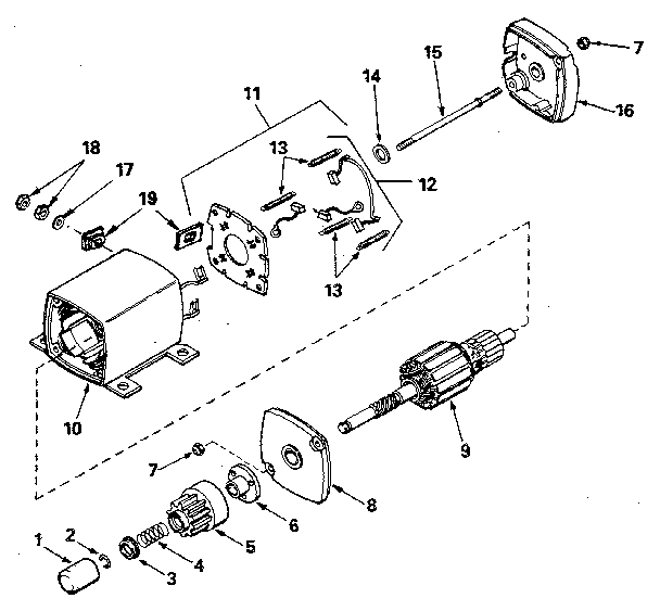 Tecumseh model TVXL220-157219 transaxle/transmission