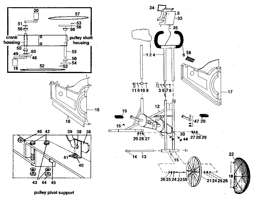 Vitamaster model R9834 cycle genuine parts