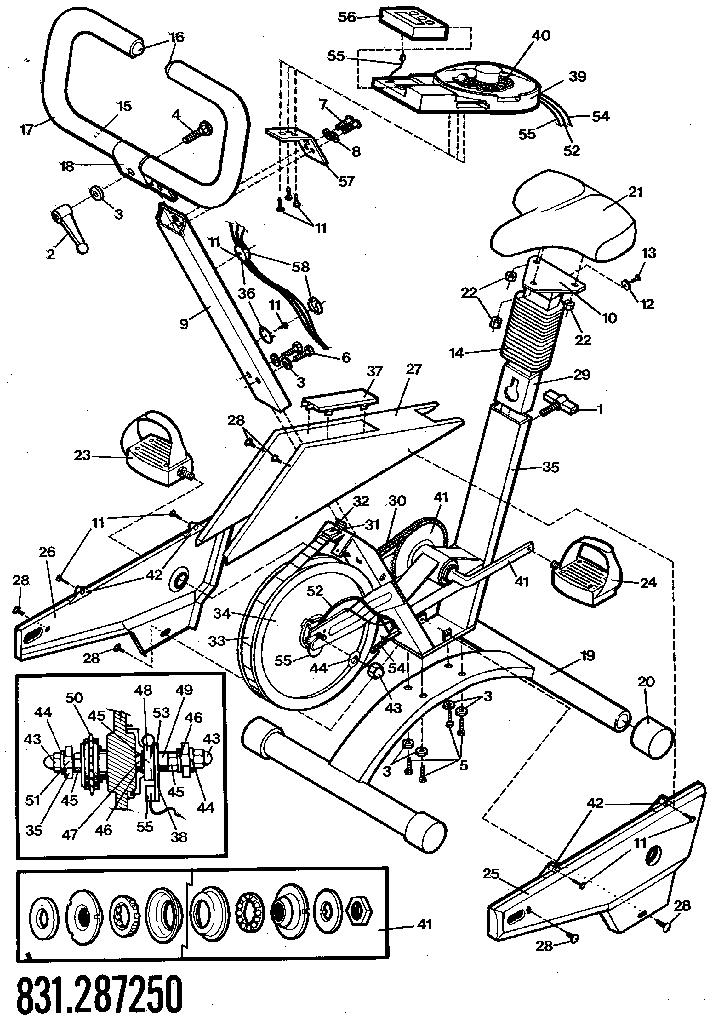 Lifestyler model 831287250 misc exercise genuine parts