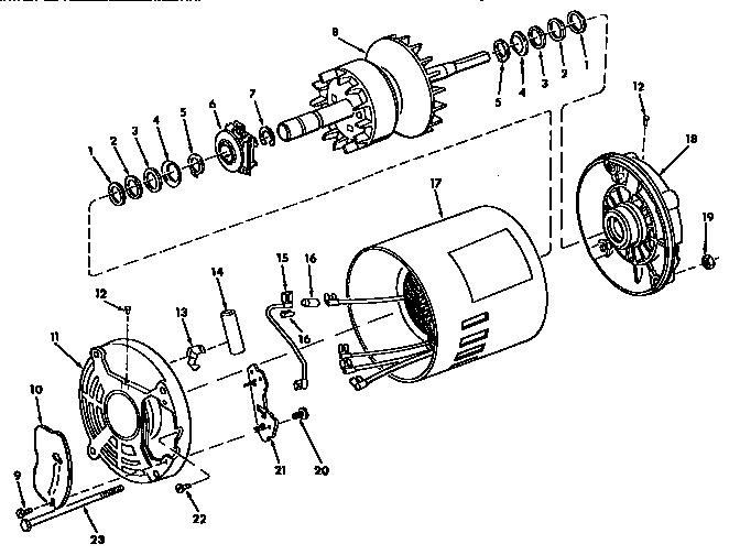 Craftsman model 113248210 saw band genuine parts