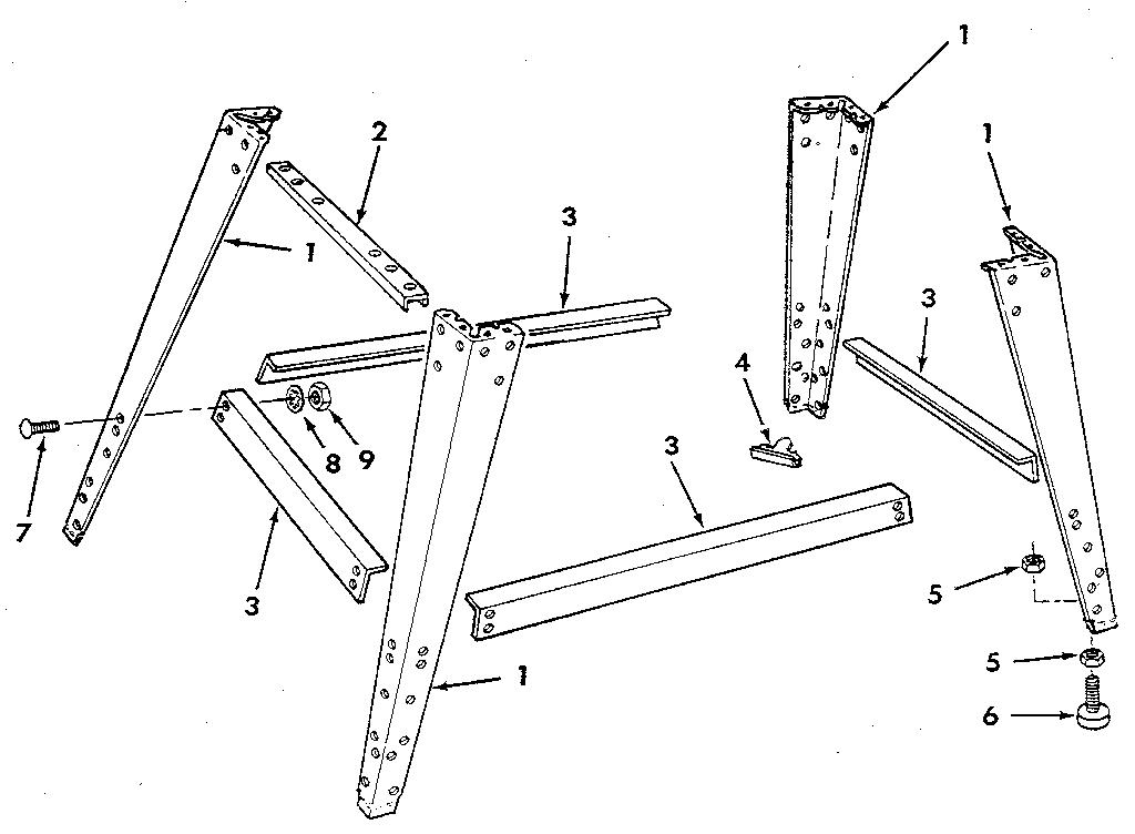 Craftsman model 113248440 band saw genuine parts