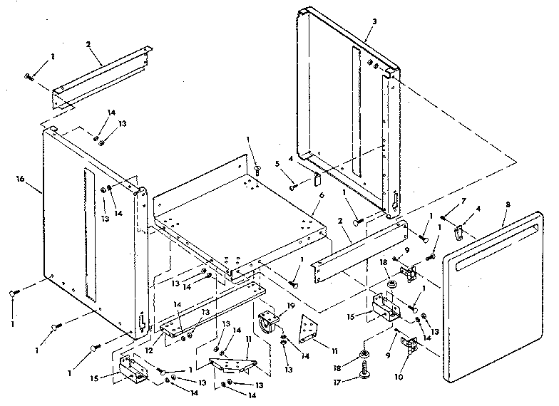 Craftsman model 113197210 saw radial genuine parts